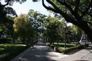 Plaza Pueyrredón Fuente GCBA