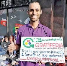 Ariel Rodríguez Bosio, creador de las gratiferias.